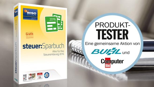 Buhl WISO Steuersparbuch testen ©mariakraynova - Fotolia.com, Buhl