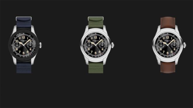 Montblanc Summit: Neue Fotos der Edel-Smartwatch enthüllt Die Summit gibt in unterschiedlichen Varianten. ©Montblanc
