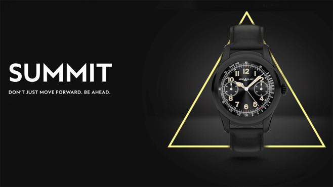 Montblanc Summit: Smartwatch ©Montblanc