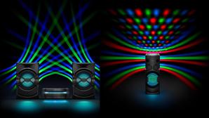 Sony MHC-V50D & SHAKE-X30D ©Sony