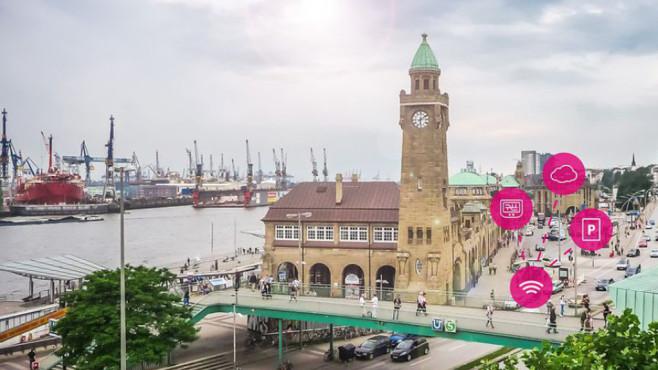 Telekom Park App für Hamburg ©Deutsche Telekom