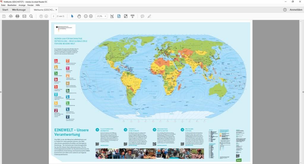 Weltkarte als PDF zum Ausdrucken  Download  COMPUTER BILD