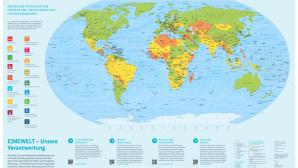 Weltkarte ©Bundesministerium für wirtschaftliche Zusammenarbeit und Entwicklung