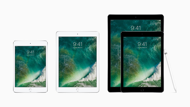 Apple iPad – die neueste Generation © Apple