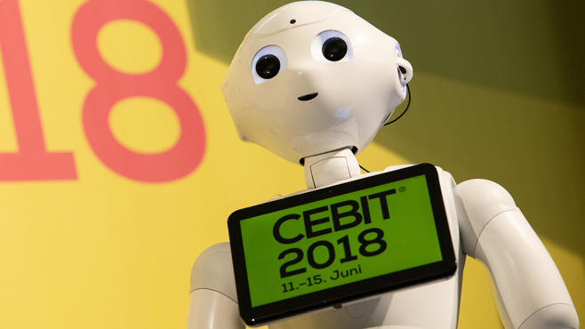 CEBIT 2018 ©Deutsche Messe, Hannover