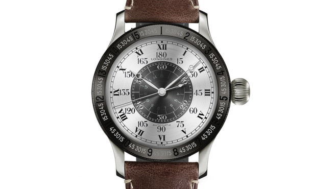 Longines The Lindbergh Hour Angle Watch 90th Anniversary © Longines