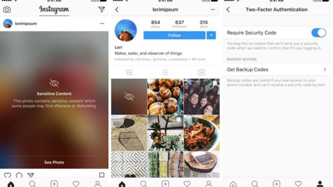 Mehr Sicherheit für Instagram ©Instagram