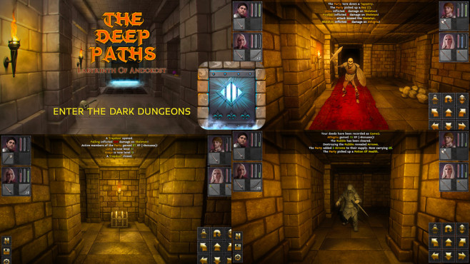 The Deep Paths © Crescent Moon Games