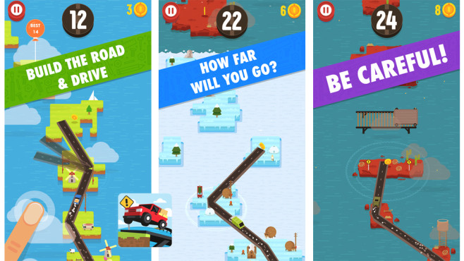 Hardway – Endless Road Builder © Digital Melody Games