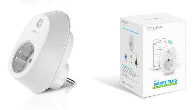 TP-Link: Das Smart Plug HS110 bringt selbst Omas Lampe ins Internet. ©TP-Link