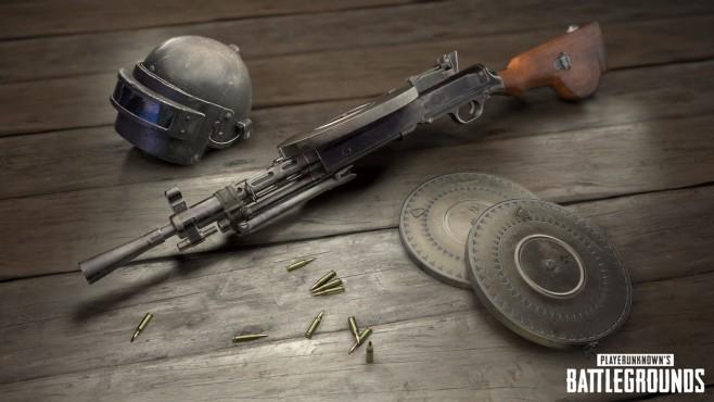 PlayerUnknown's Battlegrounds: DP-28 ©Bluehole