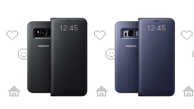 Samsung Galaxy S8 LED View Cover © Samsung.de