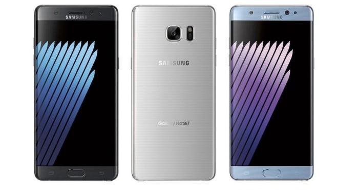 Samsung Galaxy Note 7 ©Samsung