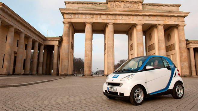 Mercedes: Car2go © AUTO BILD