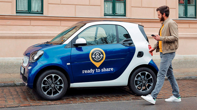 Smart: ready to share © AUTO BILD
