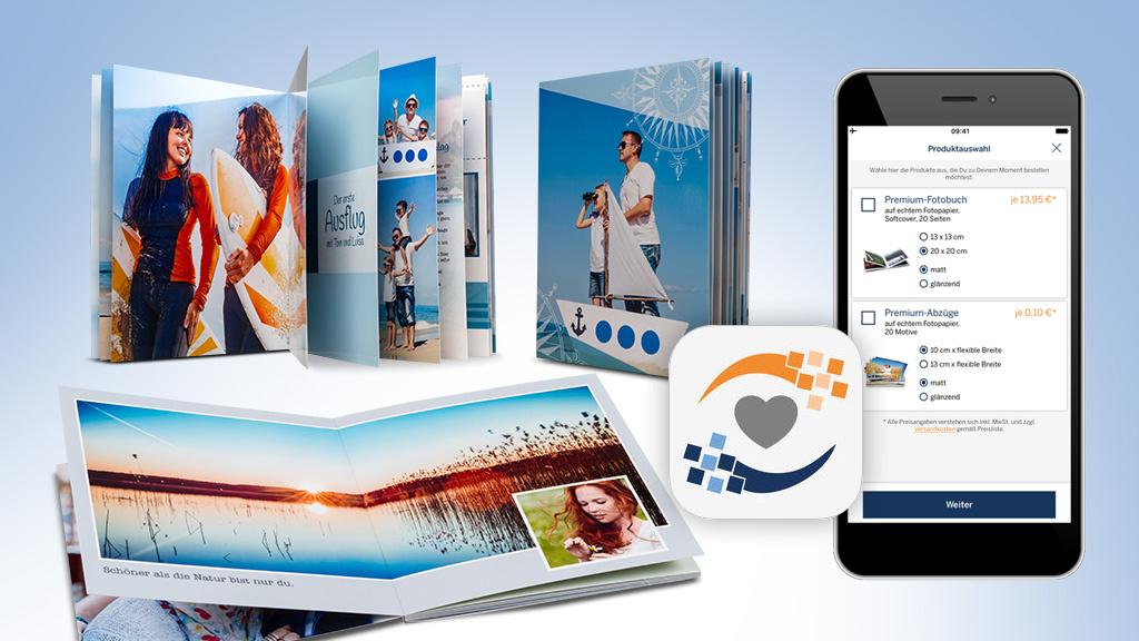 pixelnet fotobuch per app erstellen computer bild. Black Bedroom Furniture Sets. Home Design Ideas