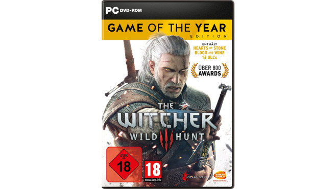 Platz 9: The Witcher 3 © Bandai Namco Entertainment