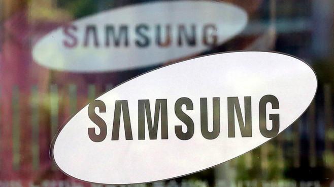 Samsung Logo ©dpa Bildfunk