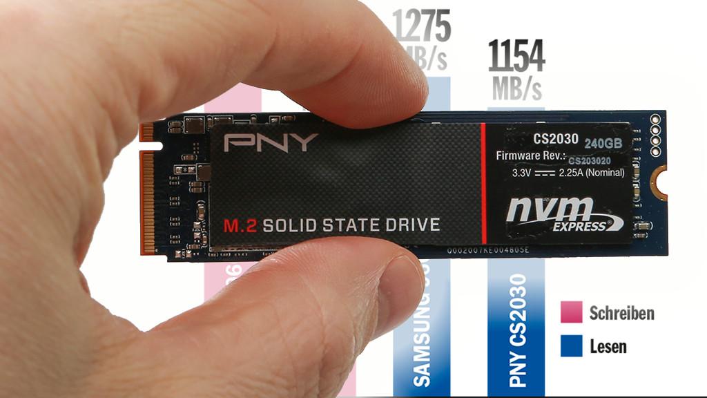 PNY CS2030 240 GB ©COMPUTER BILD