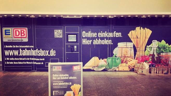 DB BahnhofsBox ©Deutsche Bahn