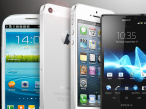 Handys und Smartphones ©Samsung, Apple, Sony