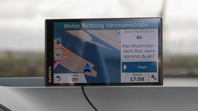 Garmin Drive Smart 61 LMT-D ©Cornelius Braun, COMPUTER BILD