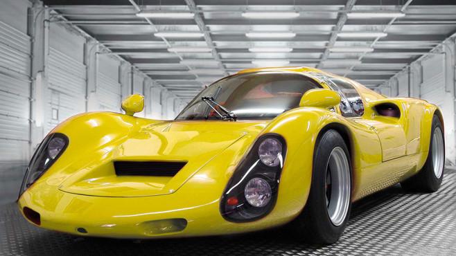 Kreisel Evex 910e: Sportwagen nun als E-Variante mit Straßenzulassung Eine Legende auf der Straße: Der Porsche 910 begeisterte schon vor vielen Jahren Motorsport-Fans weltweit. ©Kreisel Electric