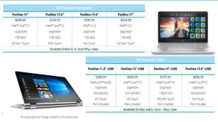 HP-Neuheiten – Preise und Verfügbarkeit ©HP