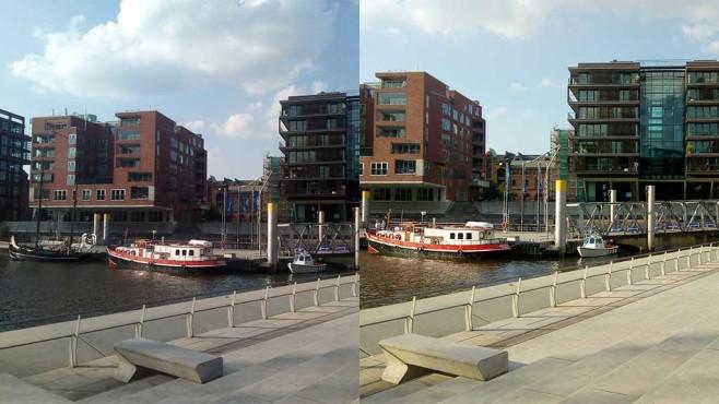 Kameravergleich: Moto C vs. Moto C Plus ©COMPUTER BILD