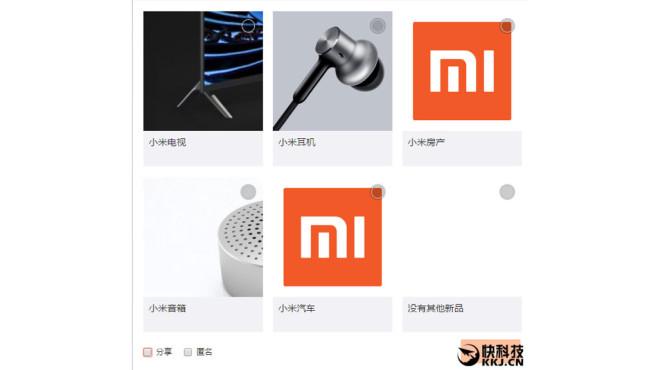 Mi-Gadgets von Xiaomi ©gizmochina