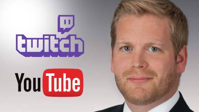 Dr. Axel von Walter, Twitch, Youtube ©Dr. Axel von Walter/Rechtsanwaltsgesellschaft Beiten Burkhardt