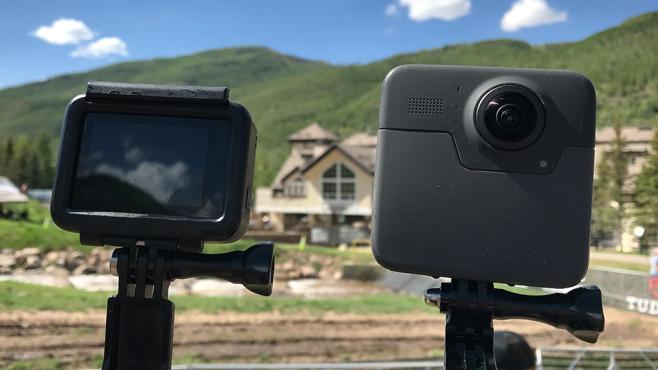 GoPro Fusion: Zweite Kameralinse ©COMPUTER BILD