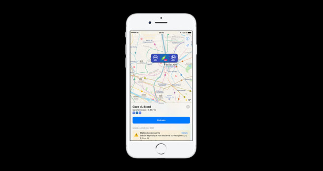 Karten-App von Apple ©Apple