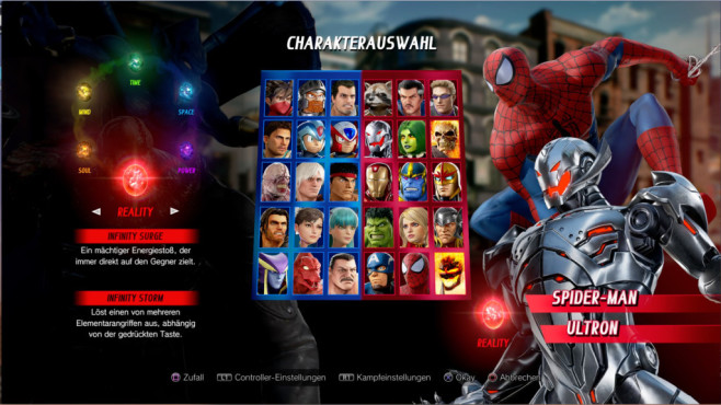 Marvel vs. Capcom – Infinite © Capcom