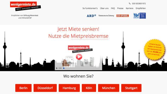 Wenigermiete.de ©Wenigermiete.de