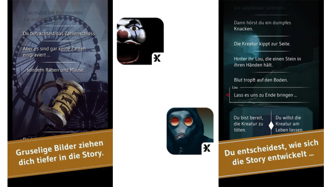 Mission X – Dark Ride & Last Society © Carlsen Verlag