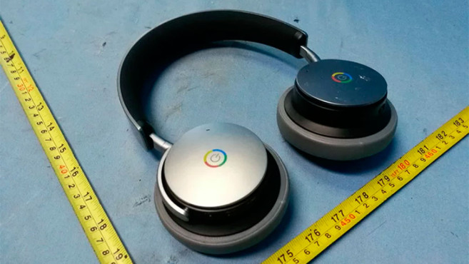 Drahtloser Kopfhörer mit Google-Logo. ©www.androidpolice.com