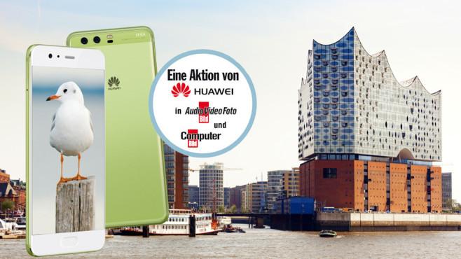 Die grosse Hafen-Tour mit dem Huawei P10 Plus ©Huawei, ©istock.com/Oliver Hoffmann