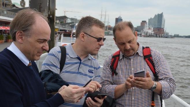 Die grosse Hafen-Tour mit dem Huawei P10 Plus ©COMPUTER BILD