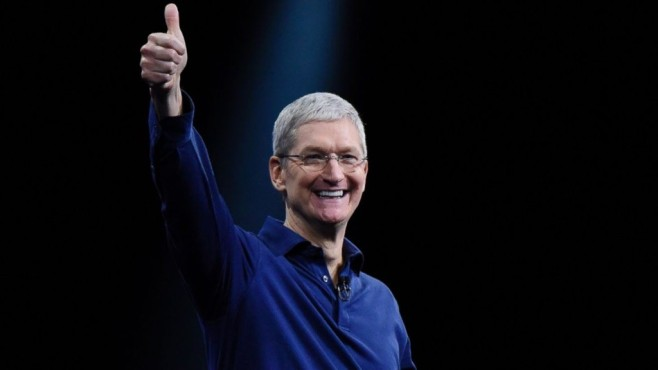 Treffen mit Tim Cook © Justin Sullivan / getty images