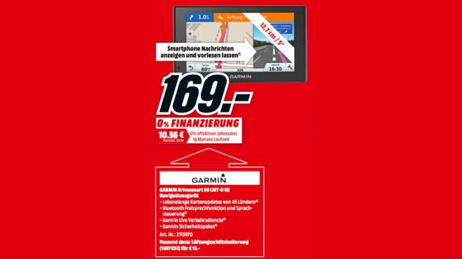 Garmin Drivesmart 50 LMT-D EU ©Media Markt