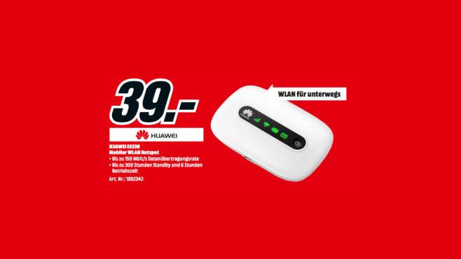 Huawei E5330 WLAN-Hotspot ©Media Markt