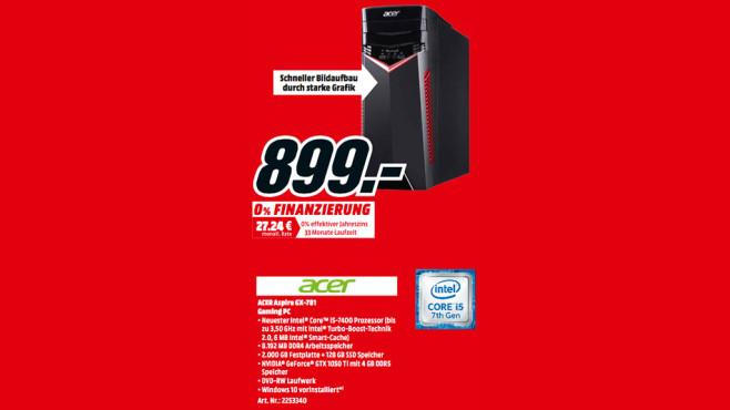 Acer Aspire GX-781 ©Media Markt