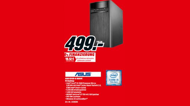 Asus K31CD-K-DE014T (90PD01R2-M13770) ©Media Markt