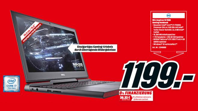 Dell Inspiron 15 7000 ©Media Markt