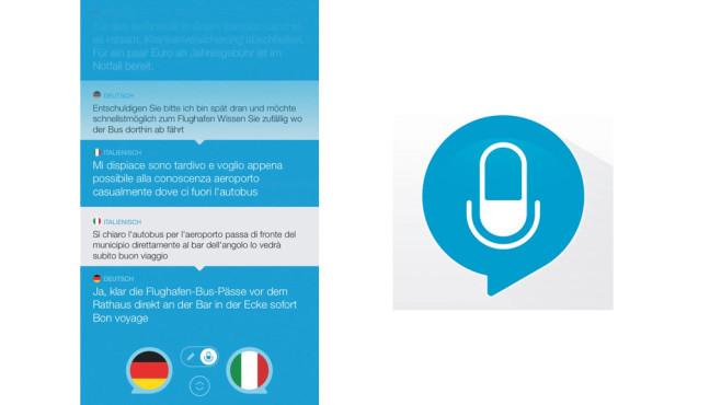 Sprechen & Übersetzen ©Apalon Apps, COMPUTER BILD