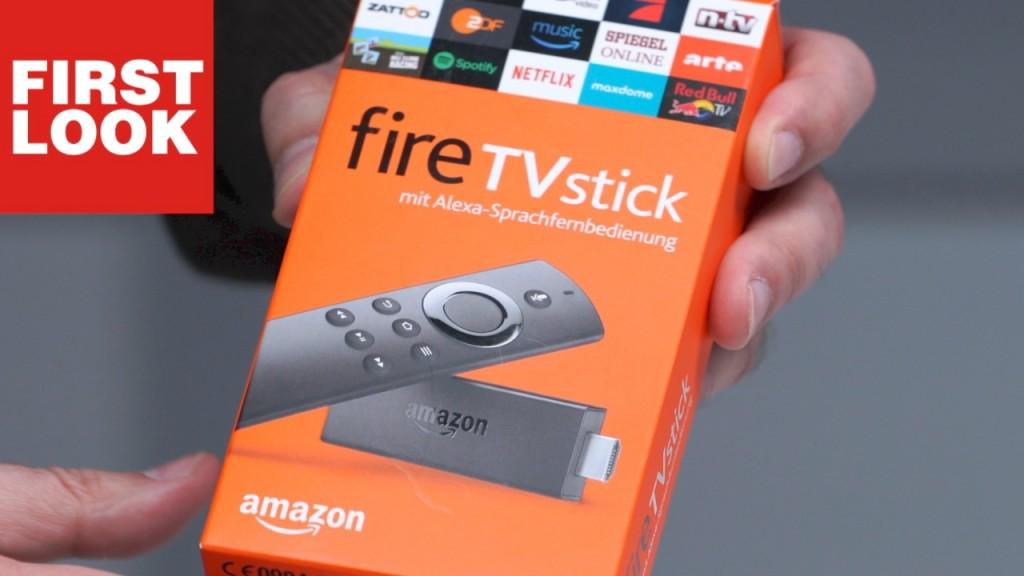 amazon fire tv stick alexa kommt ins fernsehen audio. Black Bedroom Furniture Sets. Home Design Ideas