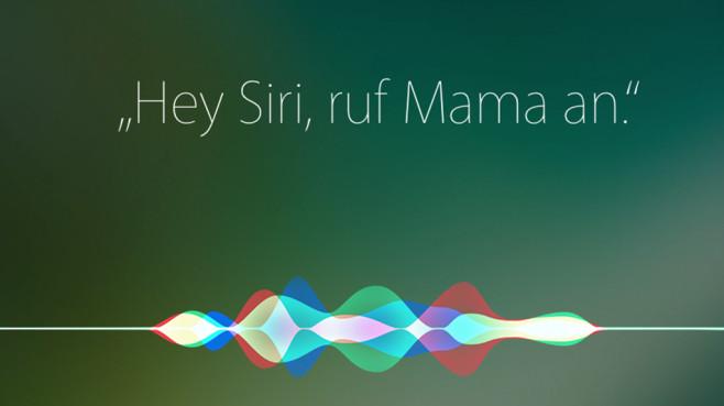 Apple Siri ©Apple