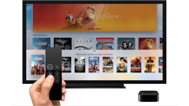 Apple TV: Apps © Apple