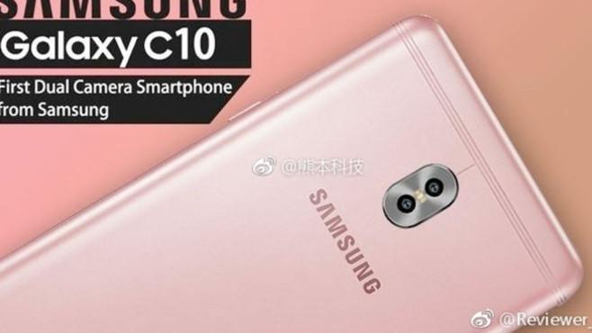 Samsung Galaxy C10 ©Phonearena / Samsung